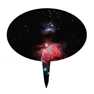 The Great Nebula in Orion Cake Topper
