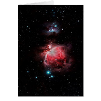 The Great Nebula in Orion Card