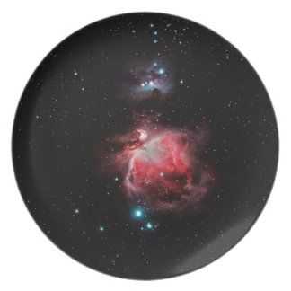 The Great Nebula in Orion Melamine Plate