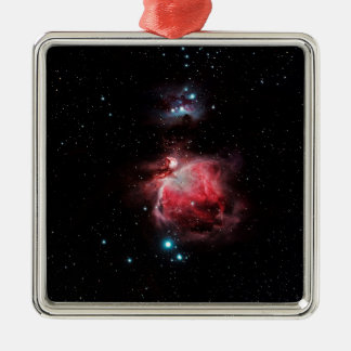 The Great Nebula in Orion Metal Ornament