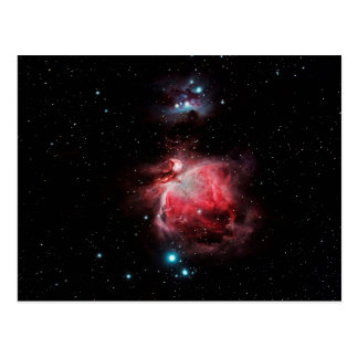 The Great Nebula in Orion Postcard