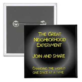 The Great Neighborhood Experiment Button