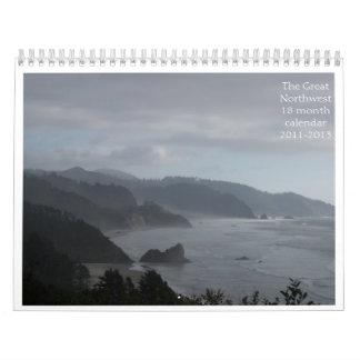 The Great Northwest18 month calendar2... Calendar
