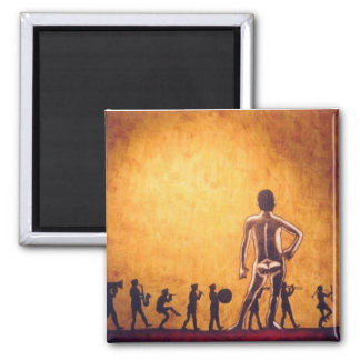 The Great Observer 2 Inch Square Magnet