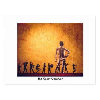 The Great Observer Postcard