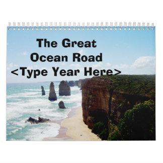 The Great Ocean Road 2 Calendar