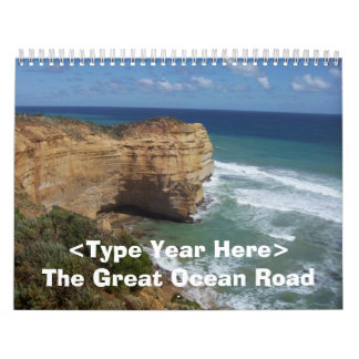 The Great Ocean Road 3 Wall Calendar