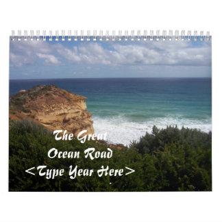 The Great Ocean Road 6 Calendar