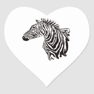 THE GREAT ONE HEART STICKER