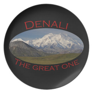 The Great One Melamine Plate