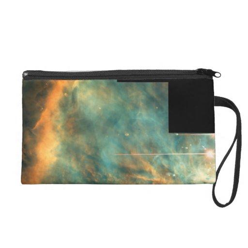 The Great Orion Nebula Wristlet Clutch