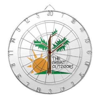 The Great Outdoors Dart Board