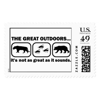 The Great Outdoors Funny Postage