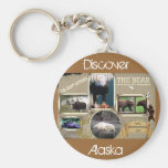 The Great Outdoors in Alaska Key Chain