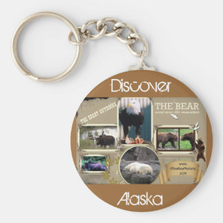 The Great Outdoors in Alaska Keychain
