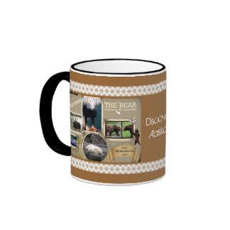 The Great Outdoors in Alaska Ringer Coffee Mug