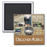 The Great Outdoors in Alaska Refrigerator Magnets