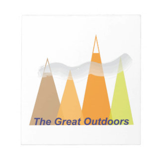 The Great Outdoors Note Pad