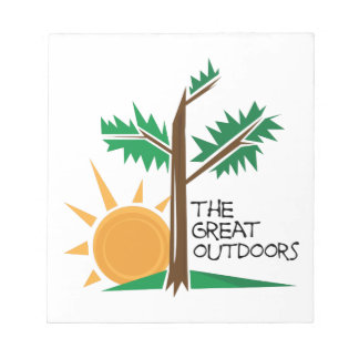 The Great Outdoors Scratch Pad