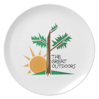 The Great Outdoors Dinner Plate
