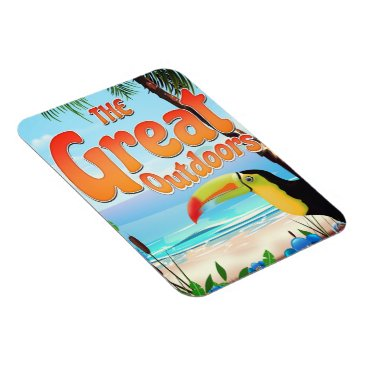 The Great Outdoors Toucan Magnet