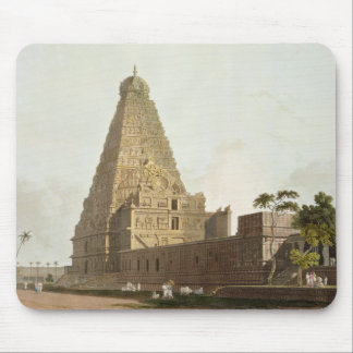 The Great Pagoda, Tanjore, plate XXIV from 'Orient Mouse Pad