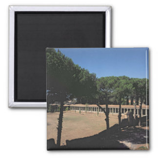 The Great Palaestra 2 Inch Square Magnet