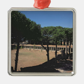 The Great Palaestra Metal Ornament