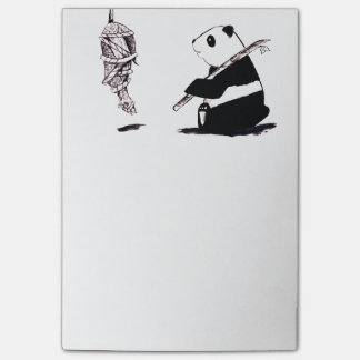 The Great Panda Capture Post-it Notes