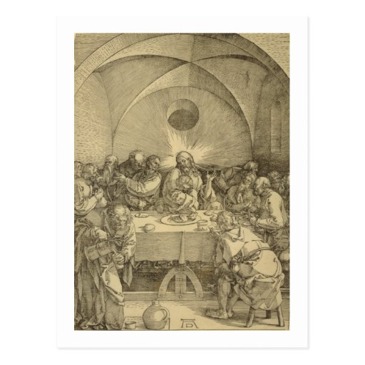 The Great Passion - Last Supper Postcard
