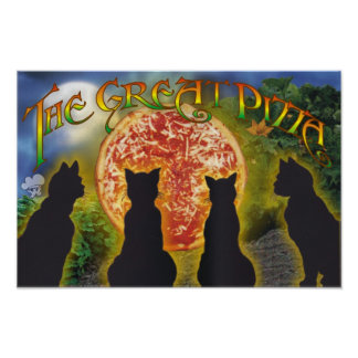 The Great Pizza Poster