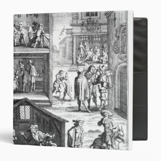 The Great Plague 3 Ring Binder