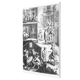 The Great Plague Canvas Print