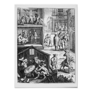 The Great Plague Print