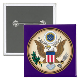 The Great Presidential Seal of the USA Button