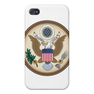 The Great Presidential Seal of the USA iPhone 4 Cover