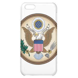 The Great Presidential Seal of the USA iPhone 5C Covers