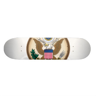 The Great Presidential Seal of the USA Skateboard Deck