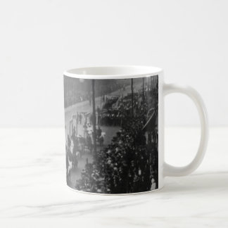"""""""The Great Procession and Women's Demonstration"""", Classic White Coffee Mug"""