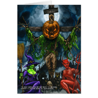 The Great Pumpkin (Died for Your Treats) Card