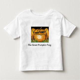 The Great Pumpkin Frog Toddler T-shirt
