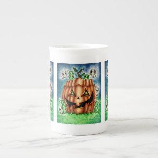 """""""The Great Pumpkin"""" Halloween Kawaii Tea Cup"""