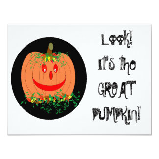 The Great Pumpkin Personalized Announcement