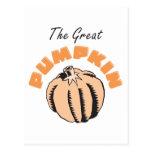 The Great Pumpkin Maternity Post Card