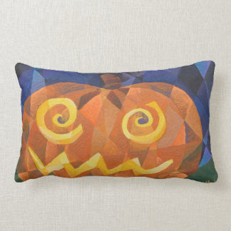 """The Great Pumpkin"" Pillow by Lola Connelly"