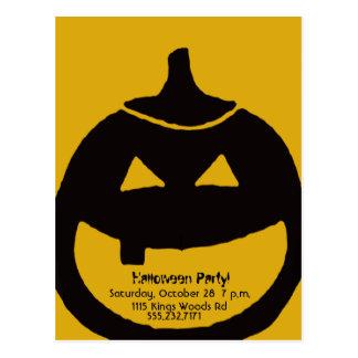 The GREAT pumpkin Postcard