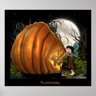 The Great pumpkin! Poster