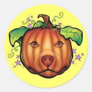 The Great Pupkin Round Sticker