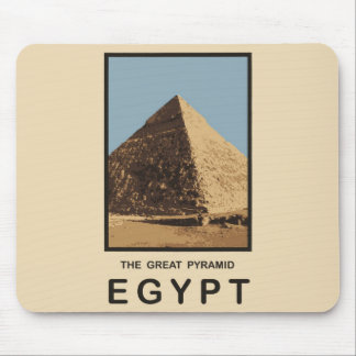 The Great Pyramid Egypt Mouse Pad