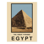 The Great Pyramid Egypt Post Card